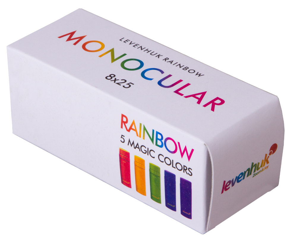 Монокуляр Levenhuk Rainbow 8x25 Red Berry