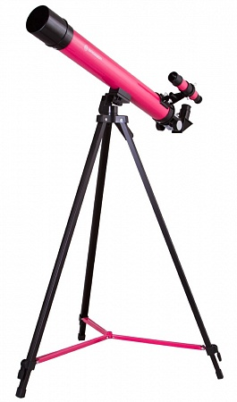 Телескоп Bresser Junior Space Explorer 45/600 AZ, розовый